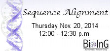 Sequence Alignment Seminar