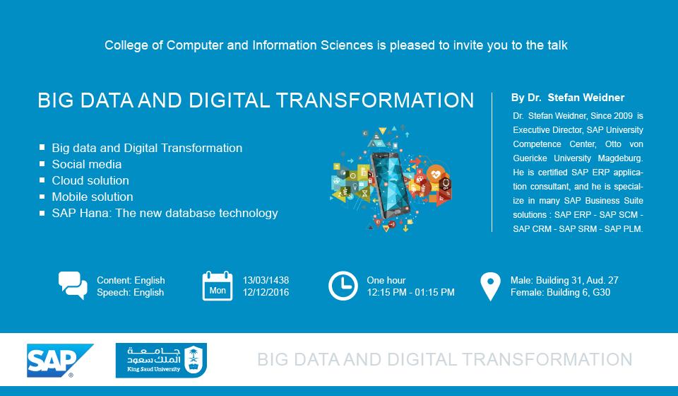 Big Data and Digital Transformation