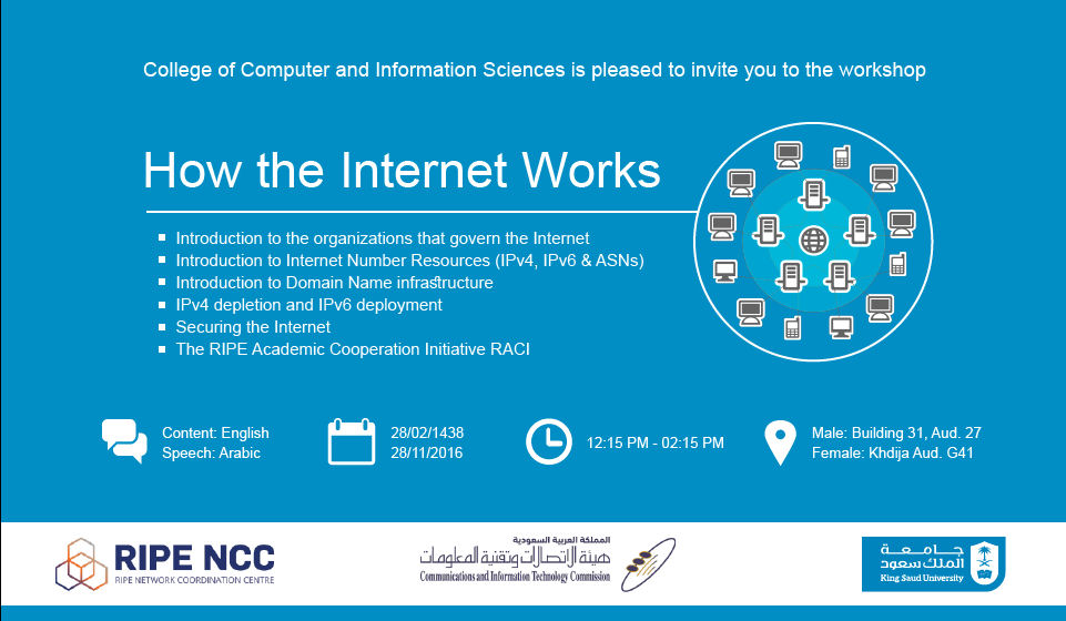 CCIS Workshop: How the Internet Works